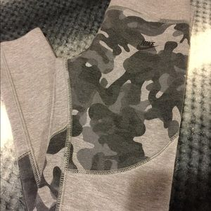 Girls nike fleece leggings